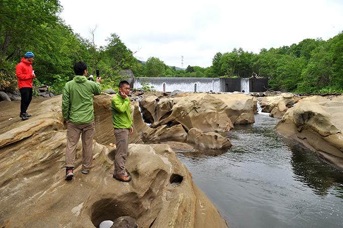 2012-06-13・加工済・砂蘭部川・2号砂防ダム直下・DSC_0014