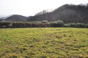 農地を買い上げて沈澱できるような巨大な堰をつくった。2010年12月10日