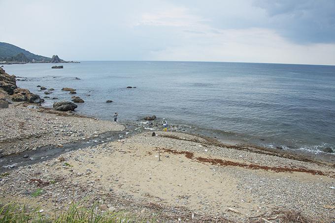 沿岸に流れ出す土砂も少なく、地元では海藻の生育が良くなったとの声が聞かれるようになった。2014年9月10日