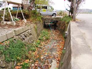 2005-11-14ーB・加工済・畑内川の屈曲部・厚沢部