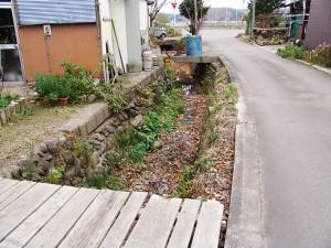 2005-11-14ーB・加工済・畑内川の屈曲部・厚沢部川水系畑内川・DSC06061