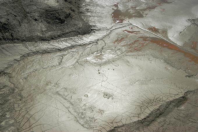 2006-09-25・加工済・穂別ダム・水抜き・泥とヘドロ・水質劣化の姿 022