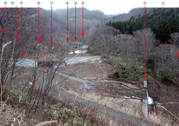 2008-03-24・加工済・人住内川・治山ダム群