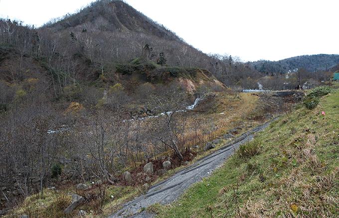 治山ダム。