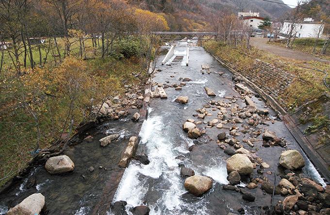 ダムに次ぐダム…ダムだらけになっている。