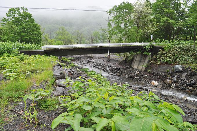パンケユクトラシナイ川の橋。