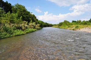 急流河川だから、巨石がたくさんあるはずなのだが…小ぶりの砂利となっている。増水すれば、川底はどんどん下がり、川岸が崩れることになる。落差工はすでに何度も壊され、壊されては災害復旧工事で再建され続けている。税金を食いものにするまさにゾンビ的落差工だ。