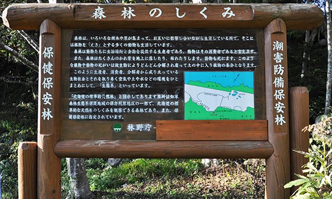 林野庁の看板。撮影2013年10月10日