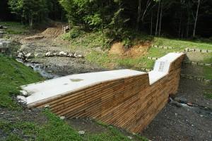 3つ目の治山ダム